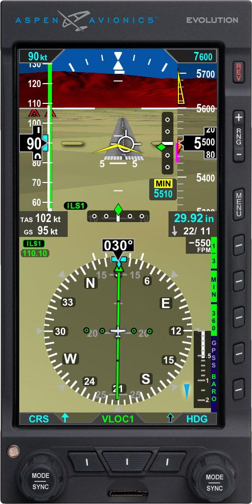 Aspen avionics evolution simulator download