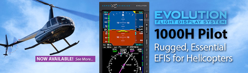 1000H Pilot for Helicopters is Now Available