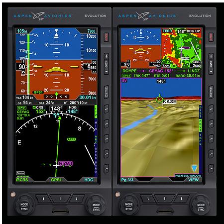 Evolution 1500c3 Aspen Avionics