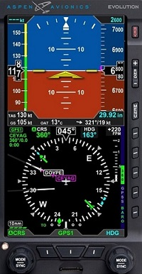VFR PFD:  CERTIFIED DISPLAY FOR UNDER $4K!